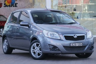 2011 Holden Barina TM Grey 6 Speed Automatic Hatchback