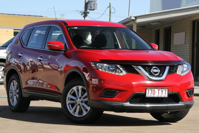 Used Nissan X-Trail T32 ST X-tronic 2WD, 2014 Nissan X-Trail T32 ST X-tronic 2WD Red 7 Speed Constant Variable Wagon