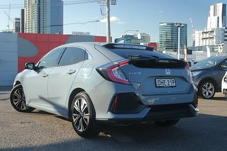 2019 Honda Civic 10th Gen MY18 VTi-LX Grey 1 Speed Constant Variable Hatchback.