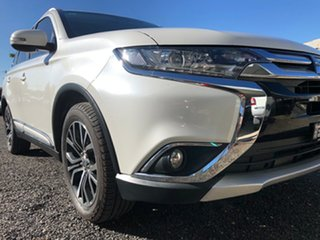 2016 Mitsubishi Outlander ZK MY16 LS (4x2) Starlight Continuous Variable Wagon.