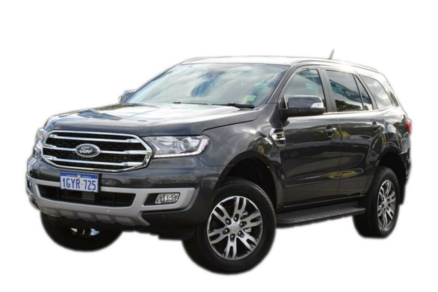 Demo Ford Everest UA II 2019.75MY Trend 4WD, 2019 Ford Everest UA II 2019.75MY Trend 4WD Grey 10 Speed Sports Automatic Wagon