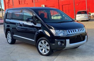 2007 Mitsubishi Delica D:5 CV5W Black Constant Variable Van Wagon.