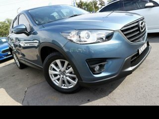 2016 Mazda CX-5 MY17 Maxx Sport (4x2) Blue 6 Speed Automatic Wagon.