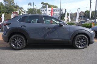 2021 Mazda CX-30 DM2W7A G20 SKYACTIV-Drive Pure Polymetal Grey 6 Speed Sports Automatic Wagon.