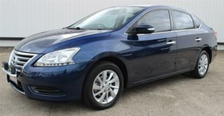 2013 Nissan Pulsar B17 ST Blue 1 Speed Constant Variable Sedan.