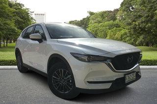 2020 Mazda CX-5 KF4WLA Touring SKYACTIV-Drive i-ACTIV AWD White Pearl 6 Speed Sports Automatic Wagon.