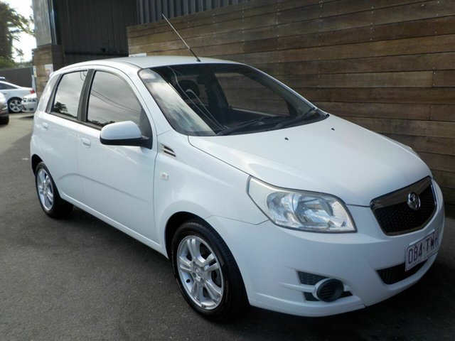 Used Holden Barina TM , 2011 Holden Barina TM White 6 Speed Automatic Hatchback