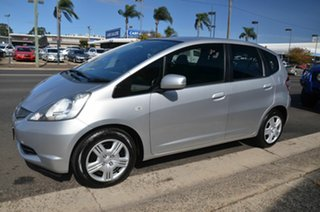 2008 Honda Jazz GE GLi Silver 5 Speed Manual Hatchback.