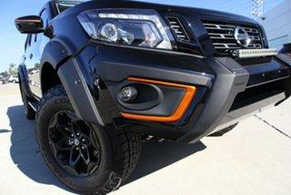 2020 Nissan Navara D23 S4 MY20 N-TREK Warrior Cosmic Black 6 Speed Manual Utility.