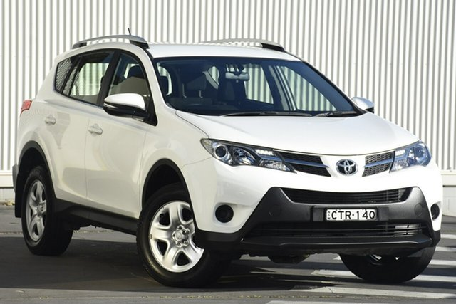 Used Toyota RAV4 ASA44R MY14 GX AWD, 2014 Toyota RAV4 ASA44R MY14 GX AWD White 6 Speed Sports Automatic Wagon