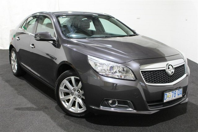 Used Holden Malibu V300 MY13 CDX, 2013 Holden Malibu V300 MY13 CDX Smokey Eye 6 Speed Sports Automatic Sedan