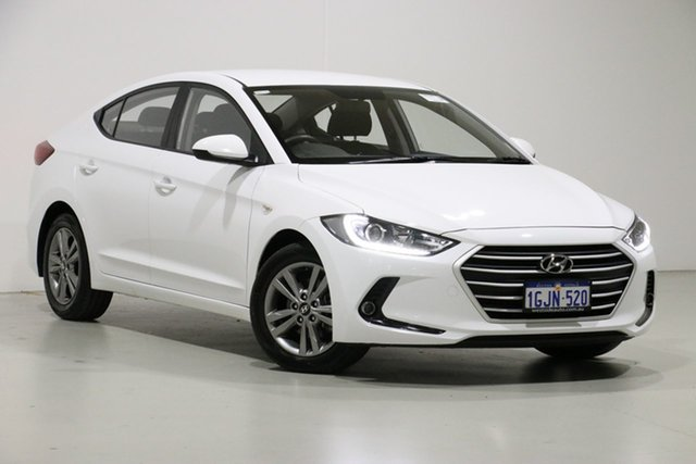 Used Hyundai Elantra AD Active 2.0 MPI, 2017 Hyundai Elantra AD Active 2.0 MPI White 6 Speed Automatic Sedan