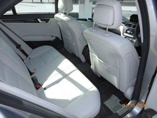 2012 Mercedes-Benz C250 W204 MY12 CDI Avantgarde BE Metal Grey 7 Speed Automatic G-Tronic Sedan