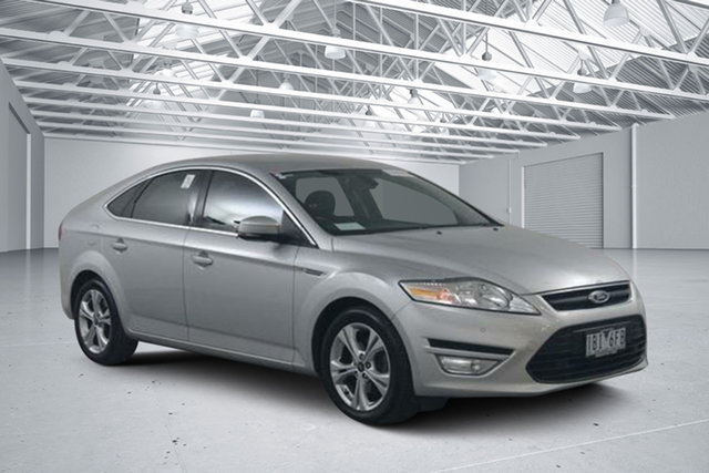 Used Ford Mondeo MC Zetec TDCi, 2013 Ford Mondeo MC Zetec TDCi Silver 6 Speed Direct Shift Hatchback