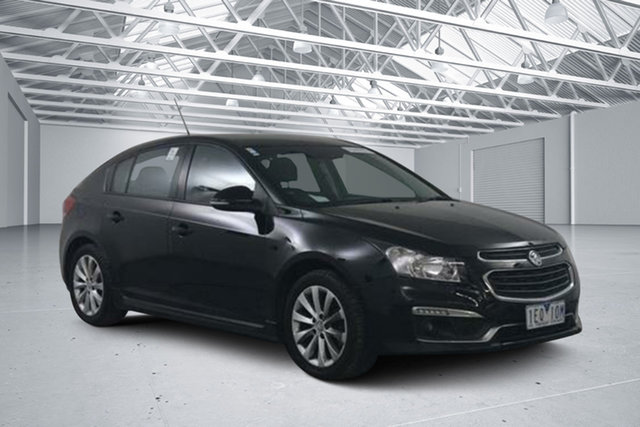 Used Holden Cruze JH MY14 SRi, 2015 Holden Cruze JH MY14 SRi Black 6 Speed Automatic Hatchback