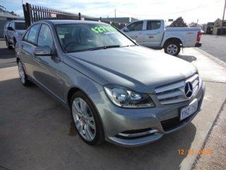 2012 Mercedes-Benz C250 W204 MY12 CDI Avantgarde BE Metal Grey 7 Speed Automatic G-Tronic Sedan.
