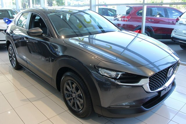 New Mazda CX-30 DM2W7A G20 SKYACTIV-Drive Pure, 2020 Mazda CX-30 DM2W7A G20 SKYACTIV-Drive Pure Machine Grey 6 Speed Sports Automatic Wagon