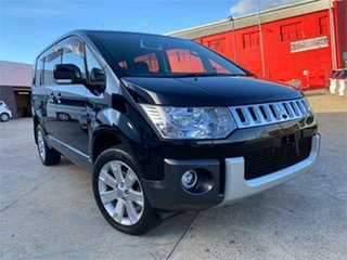 2007 Mitsubishi Delica D:5 CV5W Black Constant Variable Van Wagon