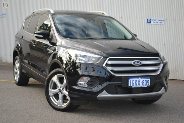 Used Ford Escape ZG Trend 2WD, 2017 Ford Escape ZG Trend 2WD Black 6 Speed Sports Automatic Wagon
