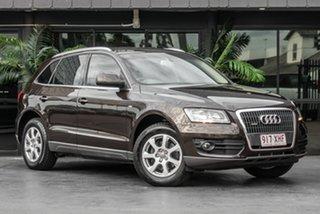 2011 Audi Q5 8R MY12 TDI S Tronic Quattro Brown 7 Speed Sports Automatic Dual Clutch Wagon.