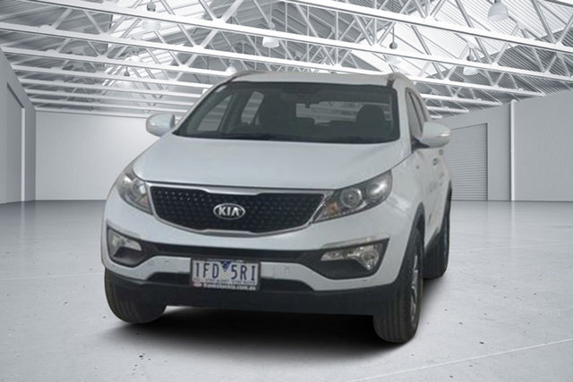 Used Kia Sportage SL Series 2 MY15 SLi(AWD), 2015 Kia Sportage SL Series 2 MY15 SLi(AWD) Clear White 6 Speed Automatic Wagon