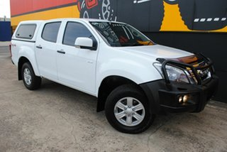 2015 Isuzu D-MAX MY15 LS-M Crew Cab Splash White 5 Speed Sports Automatic Utility.