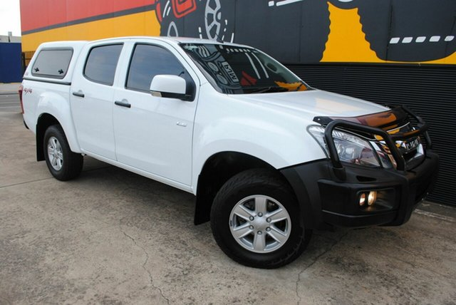 Used Isuzu D-MAX MY15 LS-M Crew Cab, 2015 Isuzu D-MAX MY15 LS-M Crew Cab Splash White 5 Speed Sports Automatic Utility