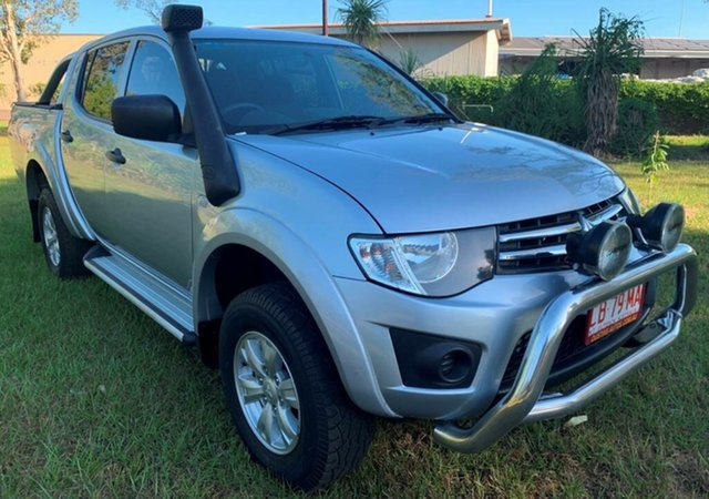 Used Mitsubishi Triton MQ MY16 GLX Double Cab, 2015 Mitsubishi Triton MQ MY16 GLX Double Cab Silver 6 Speed Manual Utility