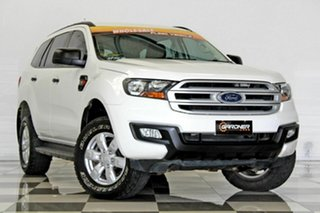 2015 Ford Everest UA Ambiente White 6 Speed Automatic Wagon.