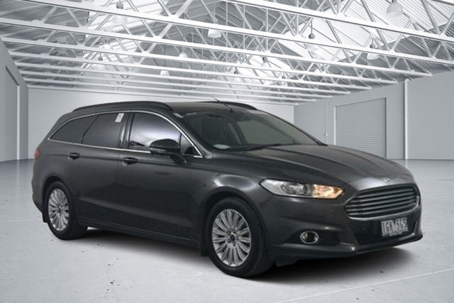 Used Ford Mondeo MD Trend TDCi, 2015 Ford Mondeo MD Trend TDCi Grey 6 Speed Automatic Wagon