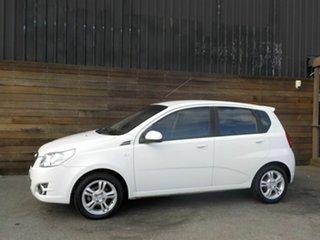 2011 Holden Barina TM White 6 Speed Automatic Hatchback