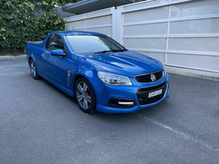 2013 Holden Ute VF MY14 SV6 Ute Blue 6 Speed Sports Automatic Utility.