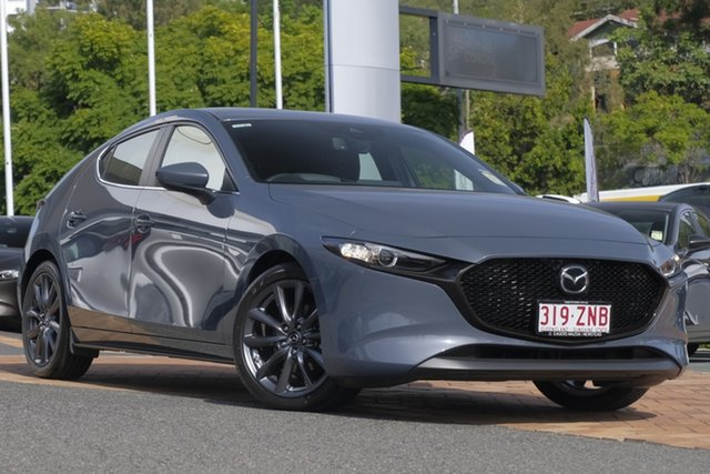Demo Mazda 3 BP2HL6 G25 SKYACTIV-MT Evolve, 2019 Mazda 3 BP2HL6 G25 SKYACTIV-MT Evolve Polymetal Grey 6 Speed Manual Hatchback