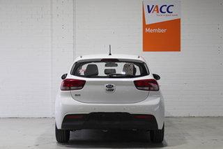 2017 Kia Rio YB MY18 S White 4 Speed Sports Automatic Hatchback