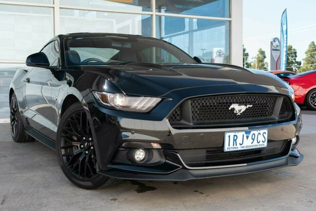 Used Ford Mustang FM GT Fastback SelectShift, 2016 Ford Mustang FM GT Fastback SelectShift Black 6 Speed Sports Automatic Fastback