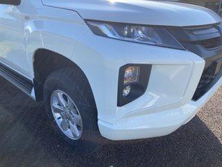 2019 Mitsubishi Triton MR MY20 GLX Plus (4x4) White 6 Speed Automatic Double Cab Pickup.