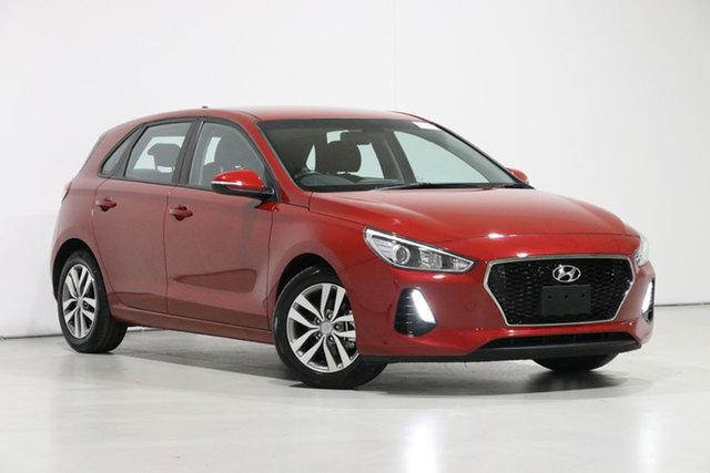 Used Hyundai i30 PD2 MY19 Active, 2018 Hyundai i30 PD2 MY19 Active Red 6 Speed Automatic Hatchback