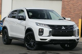 2020 Mitsubishi ASX XD MY21 MR 2WD White 1 Speed Constant Variable Wagon.