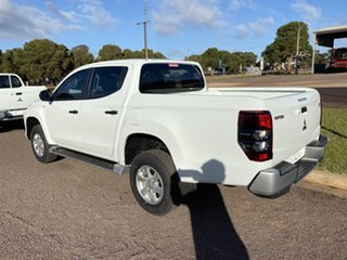2019 Mitsubishi Triton MR MY20 GLX Plus (4x4) White 6 Speed Automatic Double Cab Pickup
