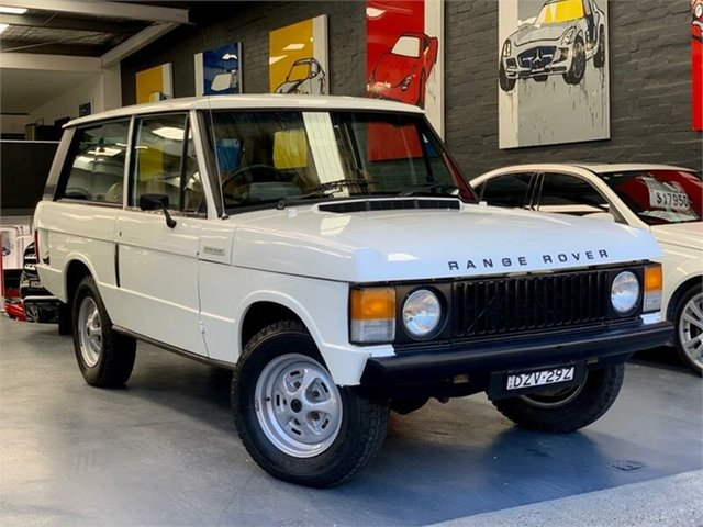 Used Land Rover Range Rover  , 1979 Land Rover Range Rover White 4 Speed Manual Wagon