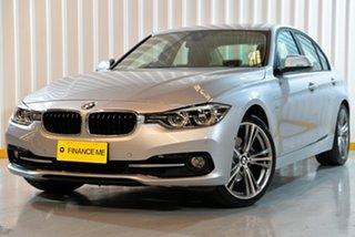 2018 BMW 3 Series F30 LCI 320i Sport Line Silver 8 Speed Sports Automatic Sedan.
