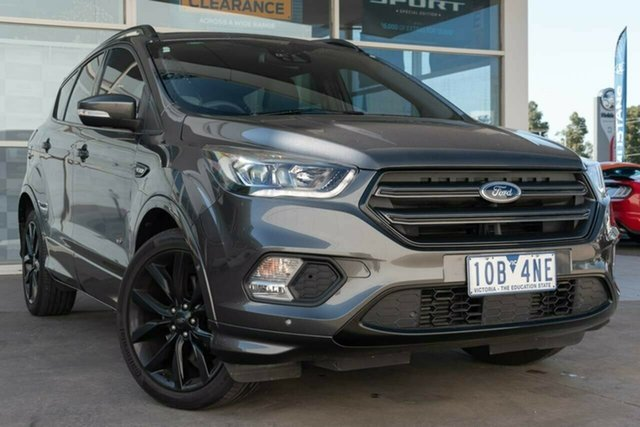 Used Ford Escape ZG 2018.75MY ST-Line AWD, 2018 Ford Escape ZG 2018.75MY ST-Line AWD Grey 6 Speed Sports Automatic Wagon