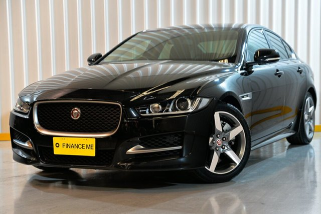 Used Jaguar XE X760 MY18 25t R-Sport, 2018 Jaguar XE X760 MY18 25t R-Sport Black 8 Speed Sports Automatic Sedan