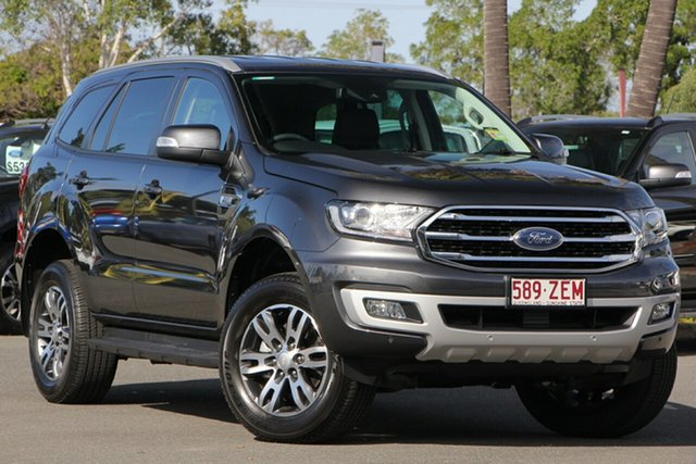 Demo Ford Everest UA II 2019.00MY Trend 4WD, 2019 Ford Everest UA II 2019.00MY Trend 4WD Meteor Grey 6 Speed Sports Automatic Wagon