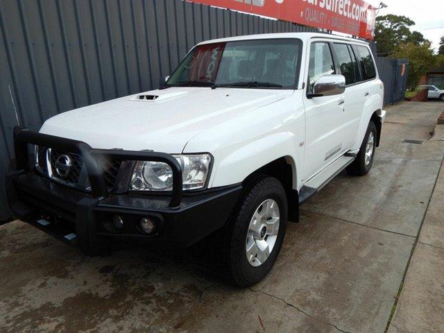 Used Nissan Patrol Y61 GU 10 ST, 2015 Nissan Patrol Y61 GU 10 ST White 4 Speed Automatic Wagon