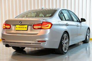 2018 BMW 3 Series F30 LCI 320i Sport Line Silver 8 Speed Sports Automatic Sedan