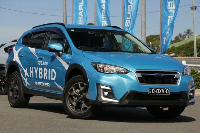 Demo Subaru XV G5X MY20 Hybrid Lineartronic AWD, 2020 Subaru XV G5X MY20 Hybrid Lineartronic AWD Lagoon Blue 7 Speed Constant Variable Wagon Hybrid