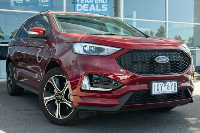 Used Ford Endura CA 2019MY ST-Line SelectShift AWD, 2019 Ford Endura CA 2019MY ST-Line SelectShift AWD Ruby Red 8 Speed Sports Automatic Wagon