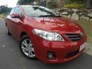 2012 Toyota Corolla ASCENT Sport Red Auto Active Select Sedan.