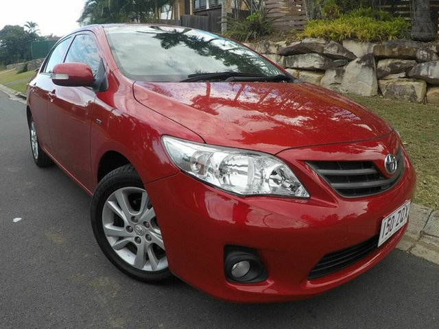 Used Toyota Corolla  Sport, 2012 Toyota Corolla ASCENT Sport Red Auto Active Select Sedan